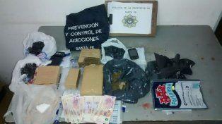 Secuestraron cocaína y marihuana en Laguna Paiva