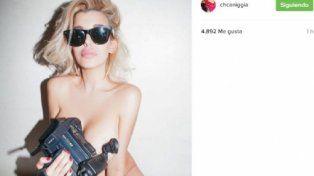Sin ropa: Charlotte Caniggia generó revuelo y polémica en Instagram