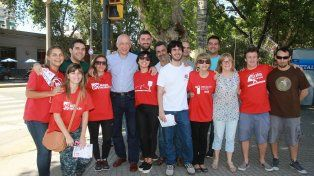 El Partido Socialista realizó una campaña de afiliación en todo el país
