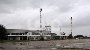 El Intendente participa de la licitación de obras para el edificio del Aeropuerto de Sauce Viejo