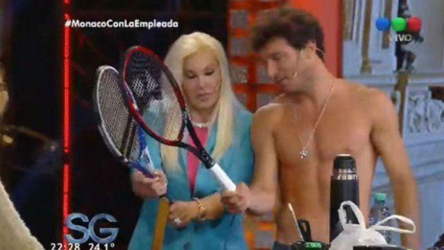 Mónaco se quedó en cuero, habló de las fotos hot con Pampita y confesó que quiere tener hijos