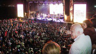 Más de 60.000 espectadores en la primera Fiesta Nacional de la Cumbia Santafesina