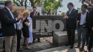Se inauguró el Paseo Alberto Maguid