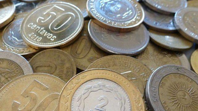 Se vienen las monedas de 5 y de 10 pesos