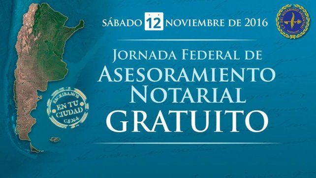 Realizarán una jornada de asesoramiento gratuito sobre temas notariales