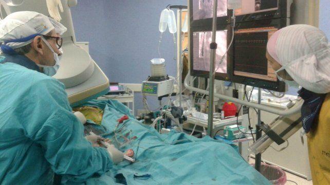 Operativos. Se realizaron en distintos hospitales públicos de la provincia de Santa Fe.