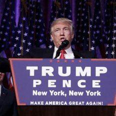 donald trump, en su primer discurso tras el triunfo electoral: sere el presidente de todos