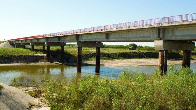 Corte total en RP Nº 4 por obras de reparación del puente sobre el río Salado