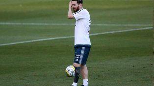 Messi lució un nuevo y extraño tatuaje en Brasil