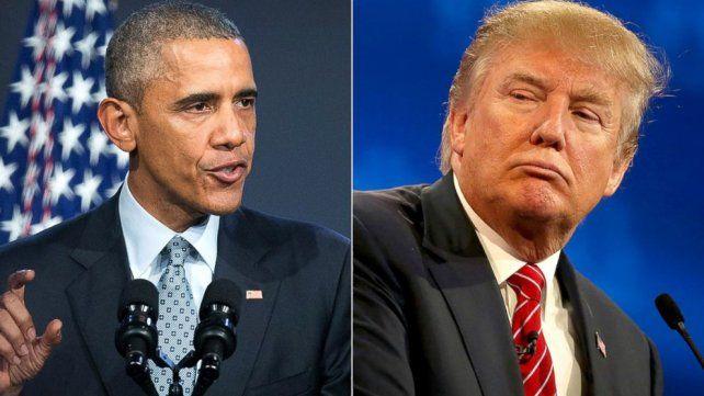 Obama felicitó a Trump por su triunfo electoral y se reunirán este jueves en la Casa Blanca
