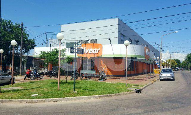 La sucursal asaltada está en el barrio de Guadalupe.