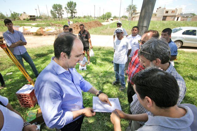Plan Norte: Avanza la construcción del desagüe Nueva Santa Fe