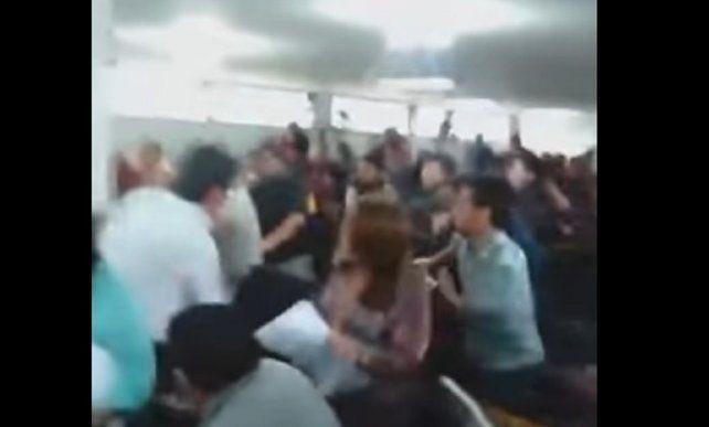Concejales de Florencio Varela a las piñas por un reconocimiento a Cristina Kirchner
