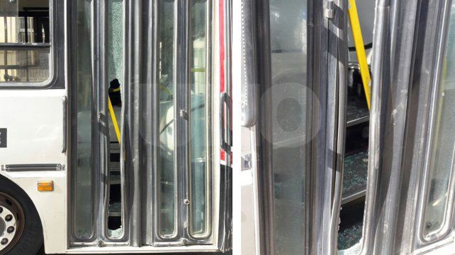 Un automovilista y un colectivero tuvieron una áspera discusión tras un accidente