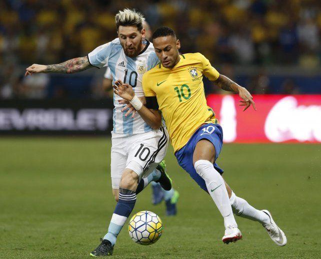 Brasil fue contundente y le ganó a la Selección que no encuentra el rumbo