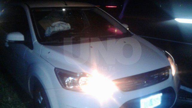 Los emboscaron sobre la autopista, les robaron pero tras una persecución fueron detenidos