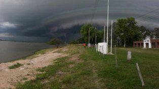 ¿Tornado en la zona del corredor de la ruta nº1?