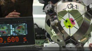 Un robot armó el cubo Rubik en menos de 1 segundo