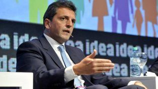 Massa: Queremos que se trate ya la reforma al Impuesto a las Ganancias