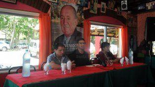Maravilla tuvo contacto con la prensa en El Quincho de Chiquito