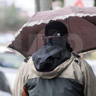 se renovo el alerta por tormentas fuertes que abarca a la ciudad de santa fe