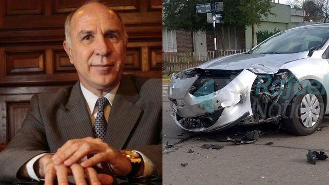 Lorenzetti tuvo un accidente de tránsito en Rafaela y hay un motociclista en estado crítico