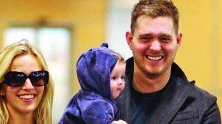 para llorar: el pedido de noah a michael buble antes de que le diagnosticaran cancer