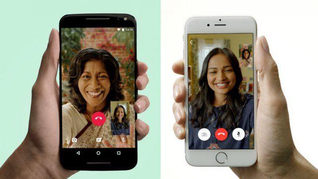WhatsApp activa las videollamadas