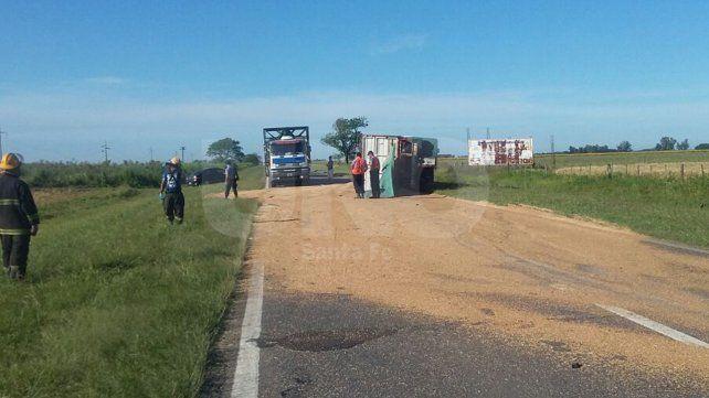 Murió un camionero en un violento choque frontal sobre ruta nacional 11