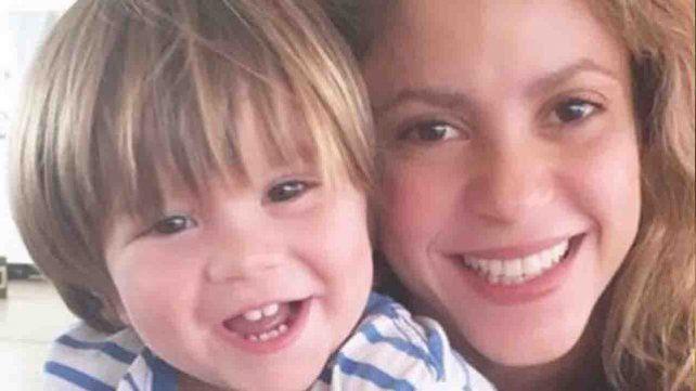 Shakira confirmó la enfermedad de su hijo Sasha