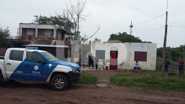 Terrorífico. La vivienda en la que fue asesinado a golpes Nicolás Almada