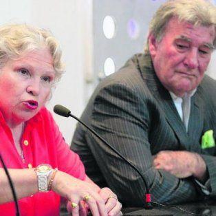 Juntos. Alicia López, titular de Cumplimiento de Normas, y Armando Pérez.