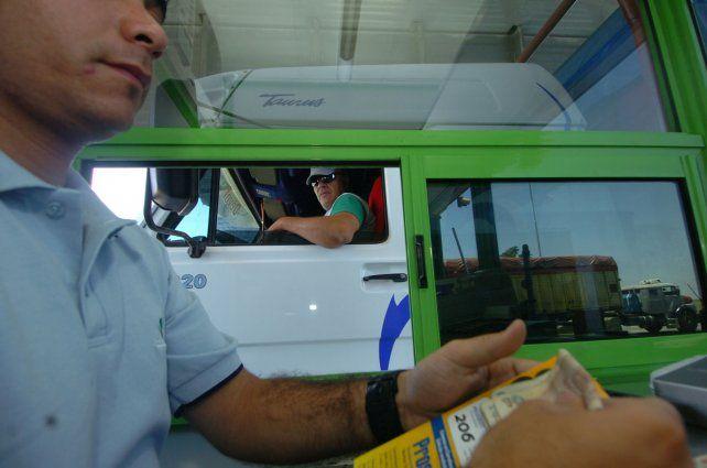 Apuro. Los transportistas quieren discutir un aumento de los fletes para paliar las subas.
