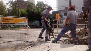 El Gobierno de la Ciudad continúa los trabajos en la vía pública