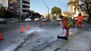 Programa de Reconstrucción: Culmina la repavimentación de calle 9 de Julio