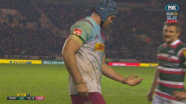 Un jugador de rugby tuvo una terrible fractura expuesta en pleno partido