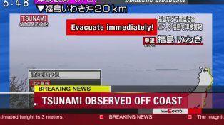 En vivo: un fuerte terremoto golpea a Japón y hay alerta de tsunami
