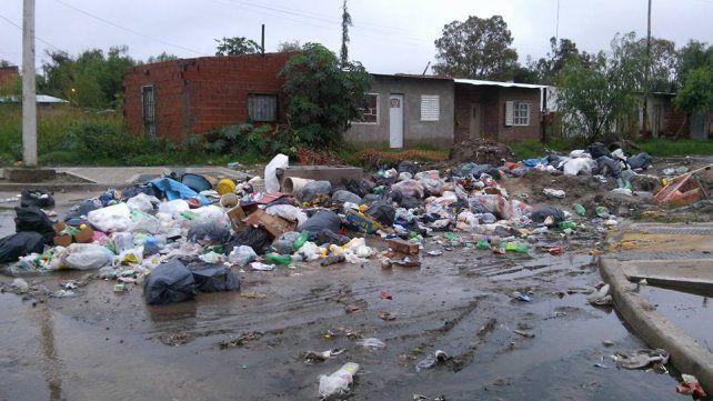 San Lorenzo. Amenábar y Pasaje Hermanos Madeo es uno de los sectores más críticos de este barrio.