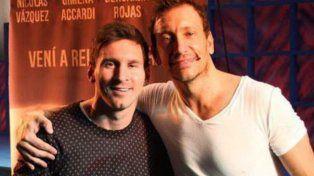 Messi y sus inesperados comentarios en un video de Nico Vázquez