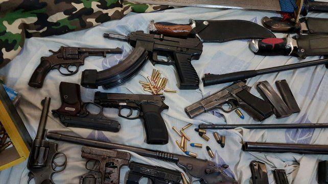 Secuestraron más de 30 armas de fuego en la última semana en el departamento La Capital
