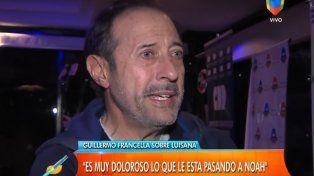 Guillermo Francella, sobre Noah Bublé: Es muy doloroso lo que está viviendo este pobre angelito