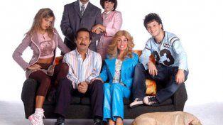 Francella y Lopilato trabajaron juntos en la serie Casados con hijos