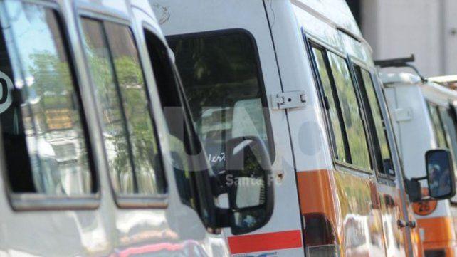 Paro y movilización de transportistas de personas con discapacidad