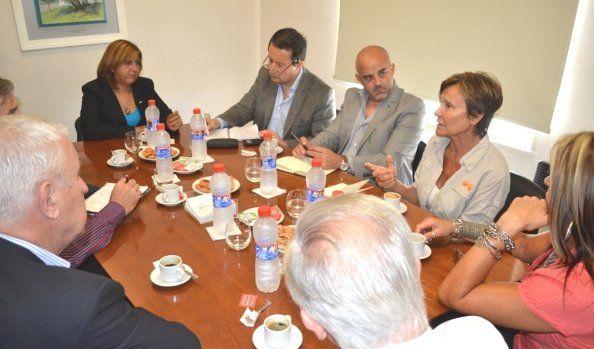 Qüesta recibió a directivos de Bahco para evaluar alternativas frente a la crisis de la empresa