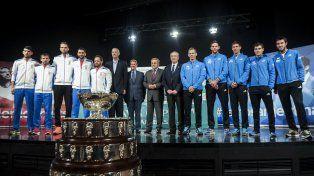 El sorteo de la serie final por la Ensaladera se realizó este jueves en La Sala de Conciertos Vatroslav Lisinski de la capital croata.