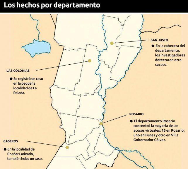 Un peruano acosó por internet a más de 20 niñas santafesinas