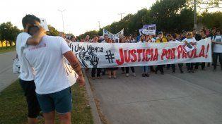 Dolor. La familia de Gómez pidió la cadena perpetua para el imputado por el femicidio.