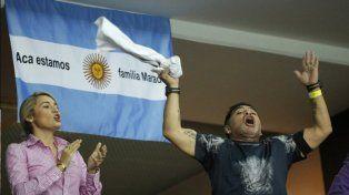 En medio de los festejos, Dalma Maradona tiró el mejor tuit del año