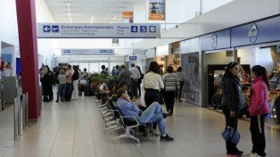 Pánico y conmoción en el aeropuerto de Fisherton por una amenaza de bomba