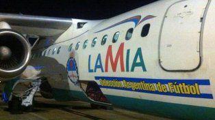 La Selección argentina viajó en el mismo avión del accidente hace 18 días